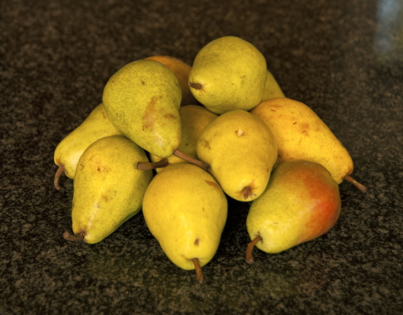 Bartlett Pears for Preserves