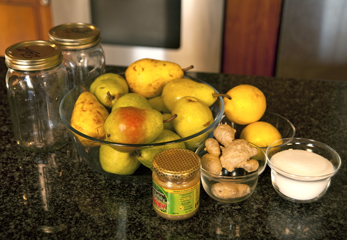 Making Bartlett Pear Preserves