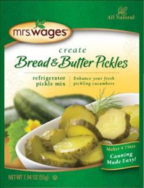 Mrs. Wages® Refrigerator or Canning Pickle Mix