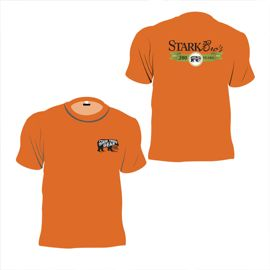 Short Sleeve 200th Anniversary T-Shirt Texas Orange
