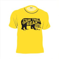 Short Sleeve Bear Logo Youth T-Shirt Island Yellow