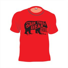 Short Sleeve Bear Logo Youth T-Shirt True Red