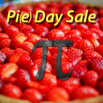 Pi(e) Day Sale