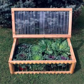 Heavy-Duty Cold Frame