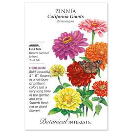 California Giants Zinnia Seed