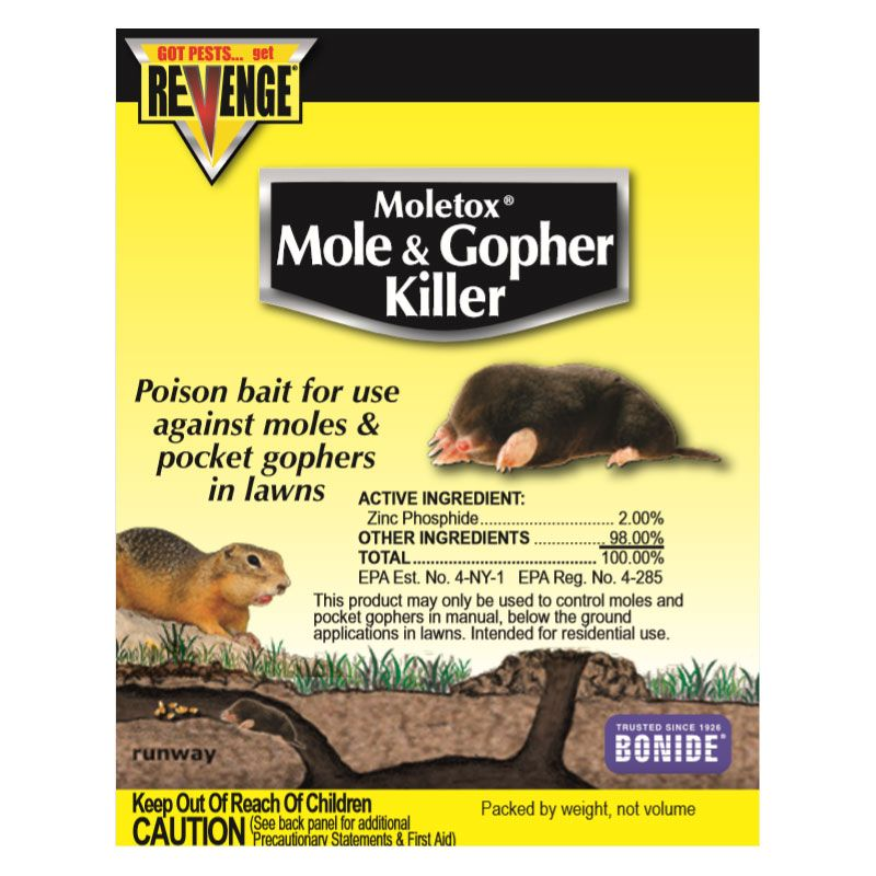 Bonide® Moletox II® Mole & Gopher Killer