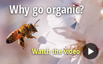 Watch a video about why to grow organic.